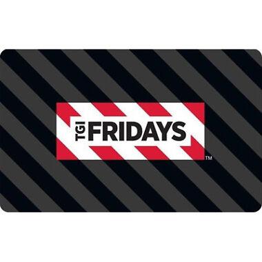 $60 TGI Fridays Gift Card