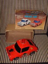 LU WEI 100% WORKING BATTERY RUN POLICE CAR W/BUMP'N GO, FLASHING LIGHT & BOX!