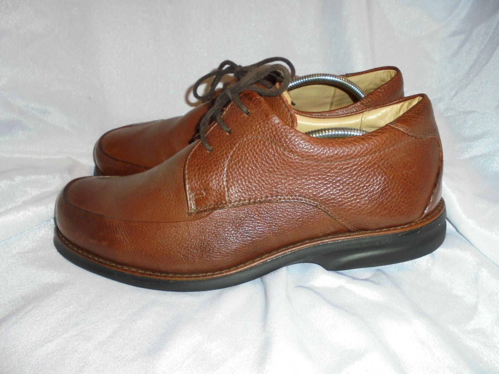 ANATOMIC & CO MEN'S BROWN LEATHER  LACE UP Schuhe 44 SIZE UK 10 EU 44 Schuhe VGC 50a25a