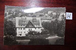Carte Postale Vue Carte Saxe Oberbärenburg Osterzgebirge-afficher Le Titre D'origine Fabrication Habile