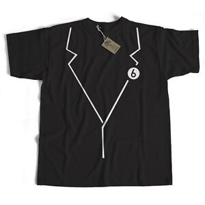 Old-Skool-Hooligans-Tribute-To-The-Prisoner-T-Shirt-Blazer-Costume-No6-Badge