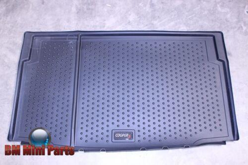MINI Genuine Cooper S Boot Mat Lining BLACK 51472304740
