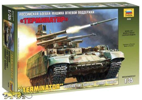 1:35 Terminator Zvezda 3636 Russian Fire Support Combat Vehicle