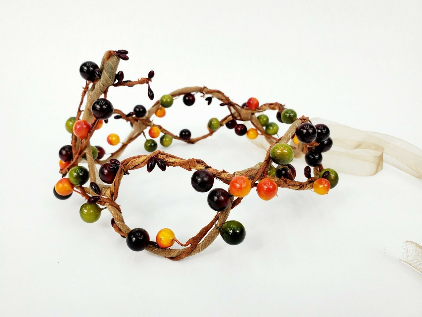 Artisan Made Faux Flower Crown For Weddings, Parties, Special Events Etc. - NEW