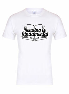 Lectura-es-fundamental-Unisex-T-Shirt-RuPaul-drag-queen-Diva-Gay-actitud-Tee