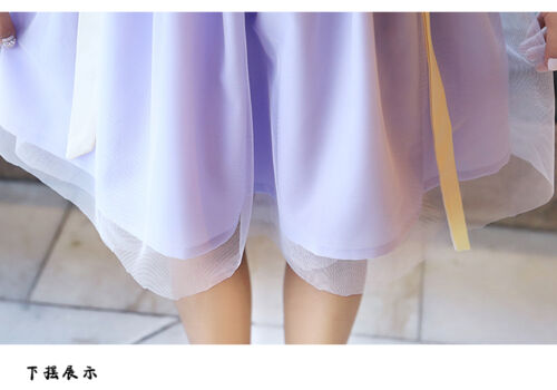 Chinese Ancient Traditional Hanfu Women Fusion Modern Hanbok Top And Skirt