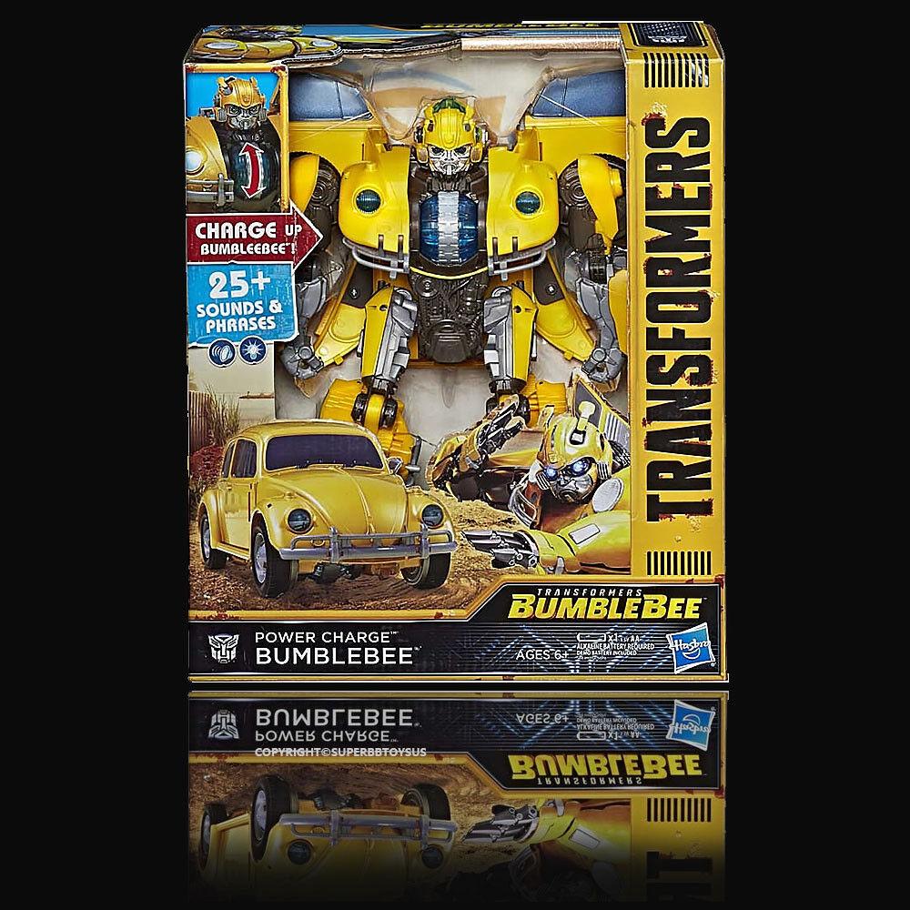 Transformers Hasbro Bumblebee Movie  Power Charge Bumblebee NEW