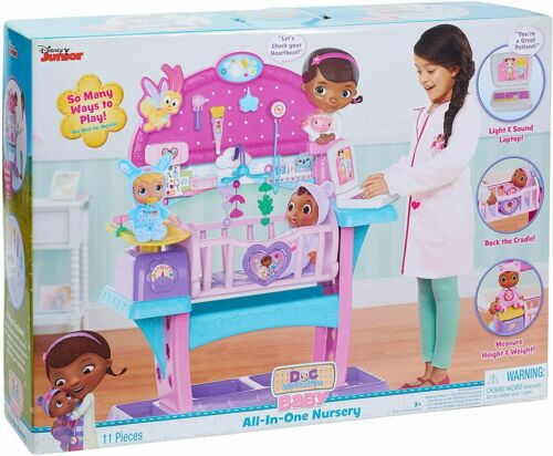 Disney Doc McStuffins All in One Baby Nursery Set