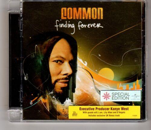 1 of 1 - (HJ382) Common, Finding Forever - 2007 SE CD