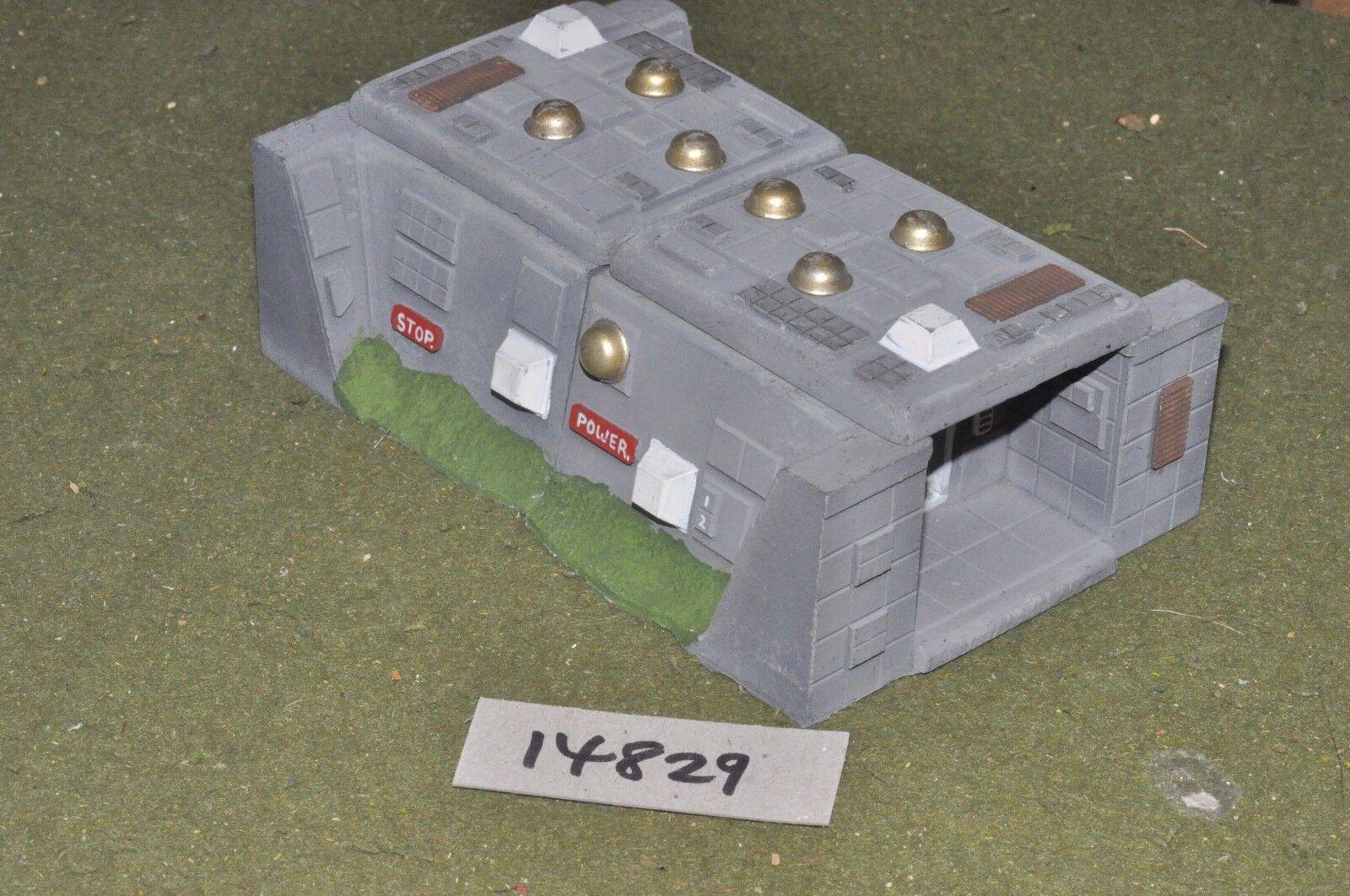 25mm sci-fi bunker scenery terrain (as photo) (14829)