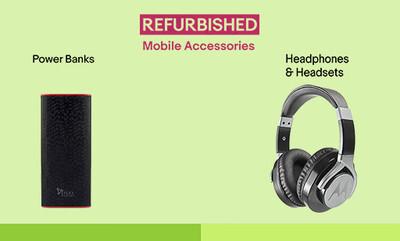 Unbelievable Prices on Refurb Accessories