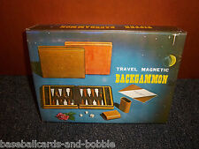 * NEW in BOX * Backgammon Magnetic with Zipper Case * GREAT for GIFT or Travel