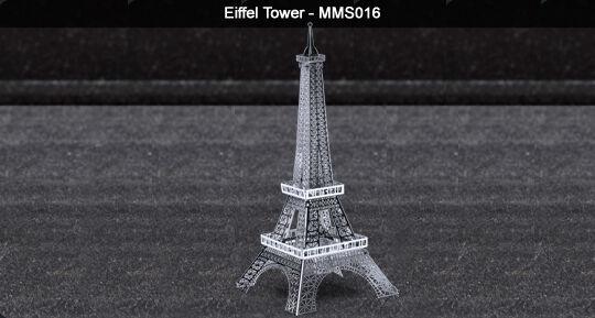 Metal Earth Eiffel Tower 3D metal Model + Tweezer 010169