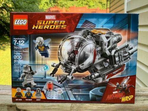 Details about  /LEGO 76109 2018 Marvel Quantum Realm Explorers Ant-man Wasp Avengers PYM Tech