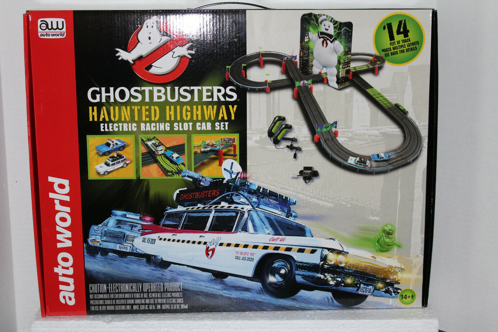 Auto World Ghostbusters Ghostbusters Ghostbusters carrera Set  SRS260  el mas reciente