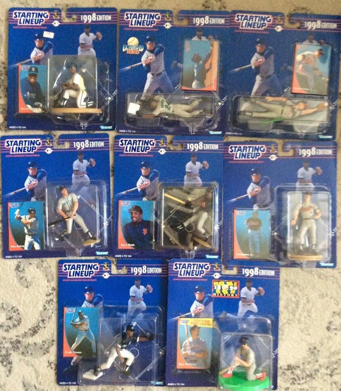 1998 ligne de départ-Up  All Star lot (8) Griffey Jr (2) Jones, AROD, obligations Thomas, Rip  magasin pas cher