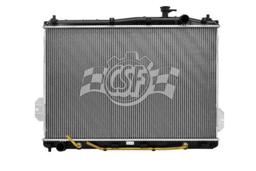 Radiator-1 Row Plastic Tank Aluminum Core CSF 3488 fits 07-12 Hyundai Veracruz