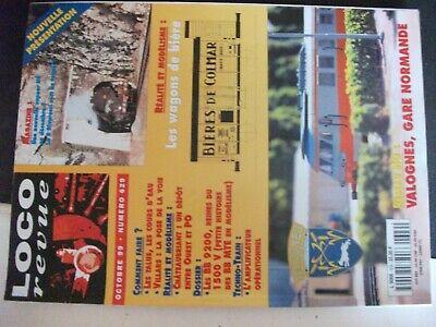 ** Loco Revue N°629 Halle D'ehnwiller H0 / Valognes / Wagons à Bière Delizie Amate Da Tutti