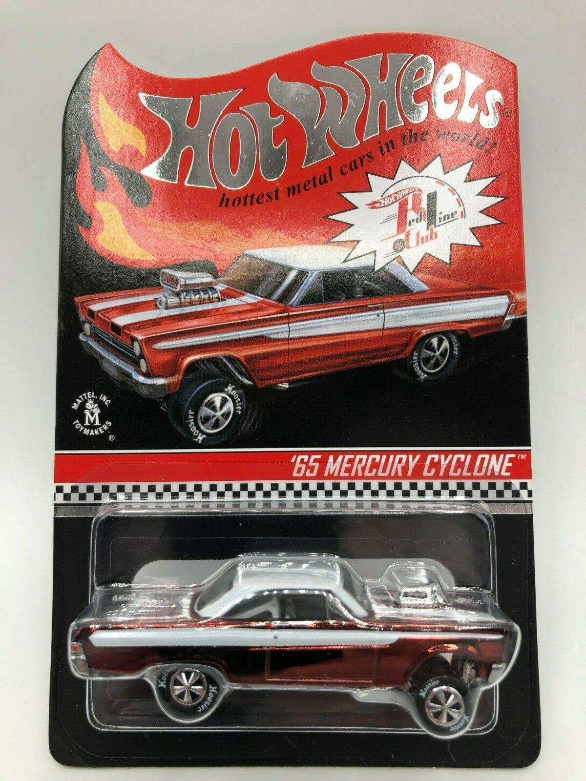 Hot Wheels RLC 65 Mercury Cyclone 2012 production blister Prougeecto