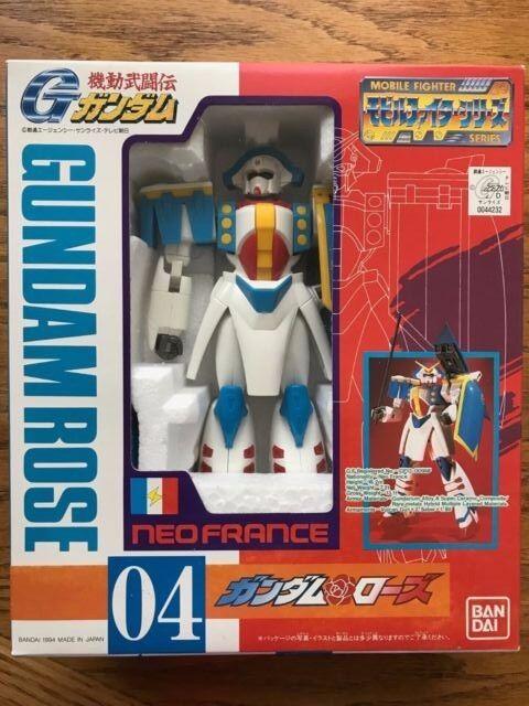 G Gundam Mobile Fighter Series 04 Gundam pink Action Figure Toy (7  tall) Bandai