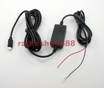 Radio-tone Micro USB Convertor 12-30V To 5V , Car Charger Cable , USB Cable