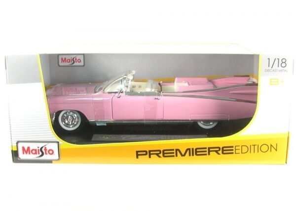 Cadillac Eldorado Biarritz Cabriolet (rose) 1959