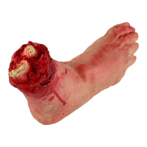 Halloween Scary Fake Body Parts Bloody Arm Hand Foot  Severed Tricky Prank Funny