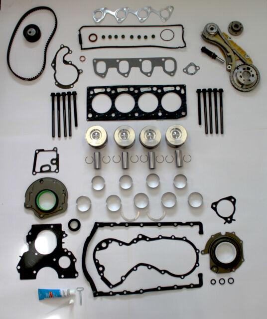 FORD 1.8 TDCI Engine Rebuild Kit avec humide Ceinture à chaîne kit de conversion