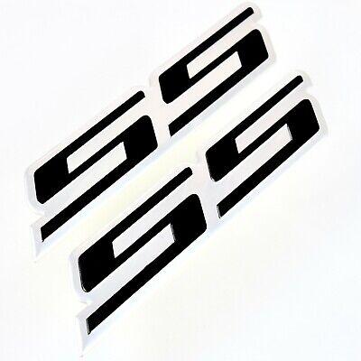 "2x New Black /""SS/"" Grille Side Trunk Emblem Badge for Chevy IMPALA COBALT Camaro"