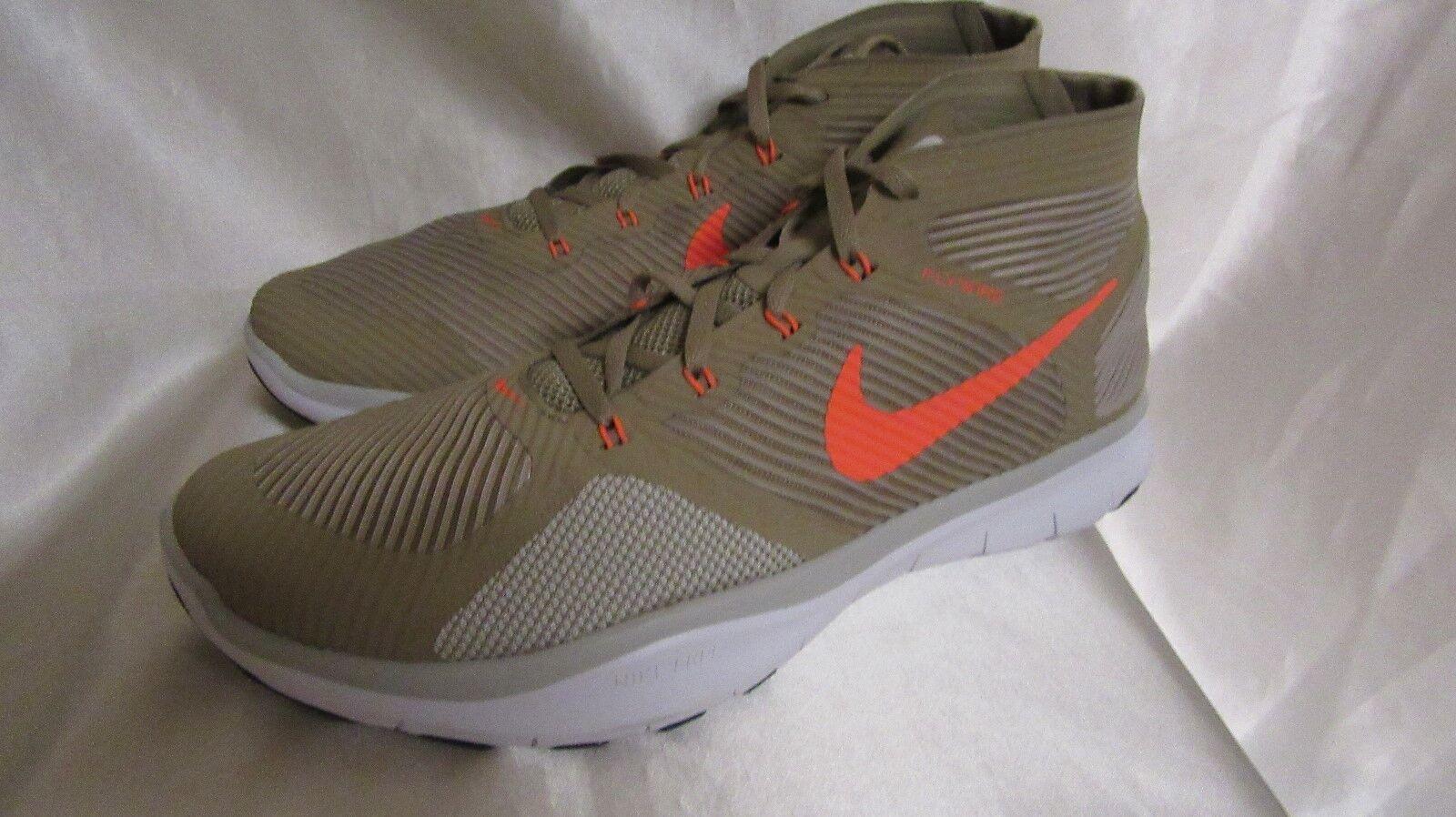 Hombre Nike Free tren instinto Khaki Athletic Zapatillas Tamaño nuevo Khaki instinto 19d014