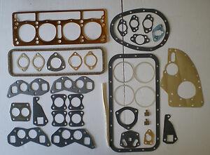 FULL ENGINE HEAD GASKET SET TRIUMPH TR2 TR3 TR3A TR4 TR4A  2.0 2.2 BOTTOM SUMP