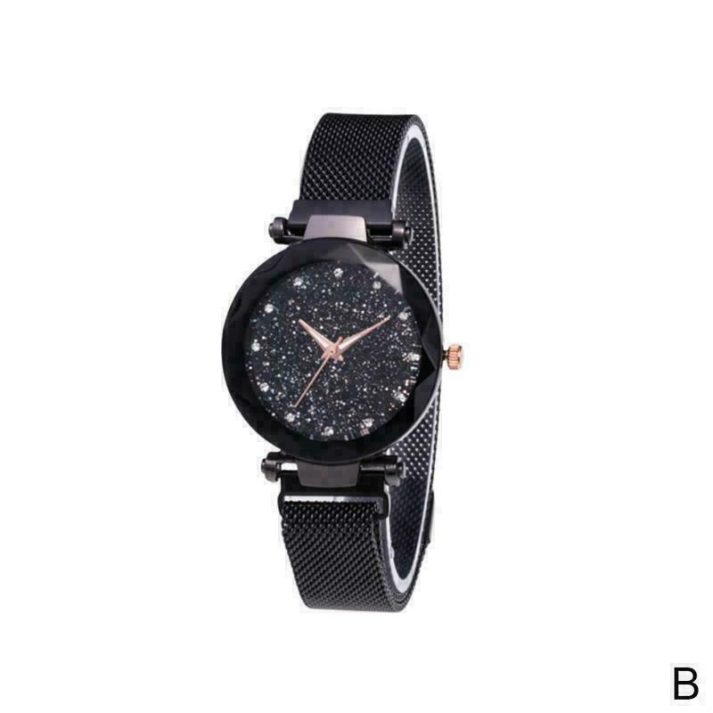 Mens Womens Leather Strap Line Analog Quartz Ladies Watches V0C7 D Wrist E1W2
