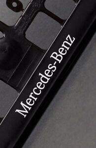 2-x-Mercedes-Euro-License-Number-Plate-Frame-Holder