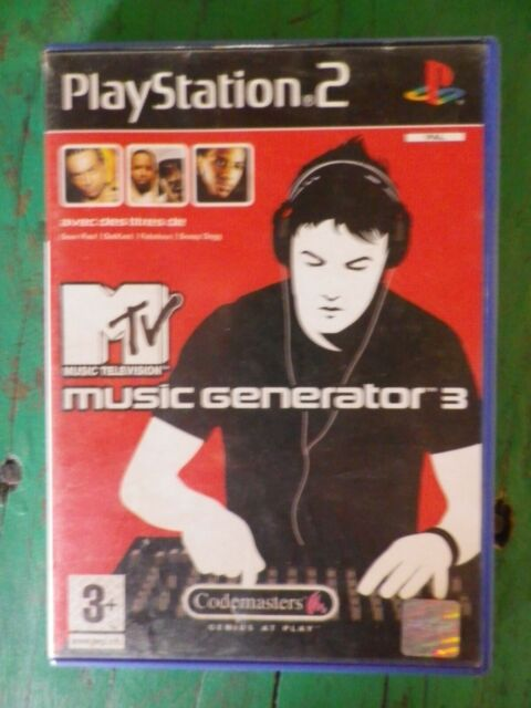MTV Music Generator 3 - Jeu PS2
