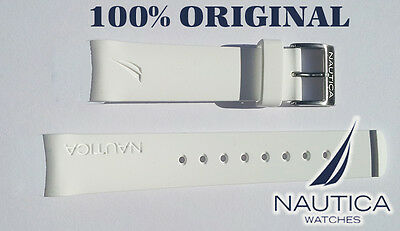 NAUTICA REPLACEMENT BAND/STRAP WATCH WHITE 22 100% ORIGINAL N14537 N14555 N16568