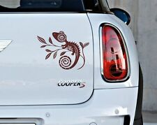 Maori Chameleon Gecko Car Decal Vinyl Sticker Tribal Adhesive Graphic