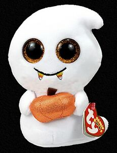 fc79345e09a TY Beanie Boo Scream - Jack O Lantern Halloween Plush Sparkle Eyes ...