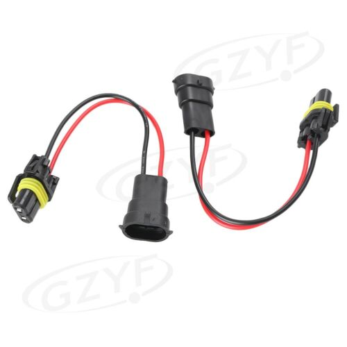 Car Converter Socket Harness Adapter Cable Wires HB4//9006 To H8 H11 Fit Foglight