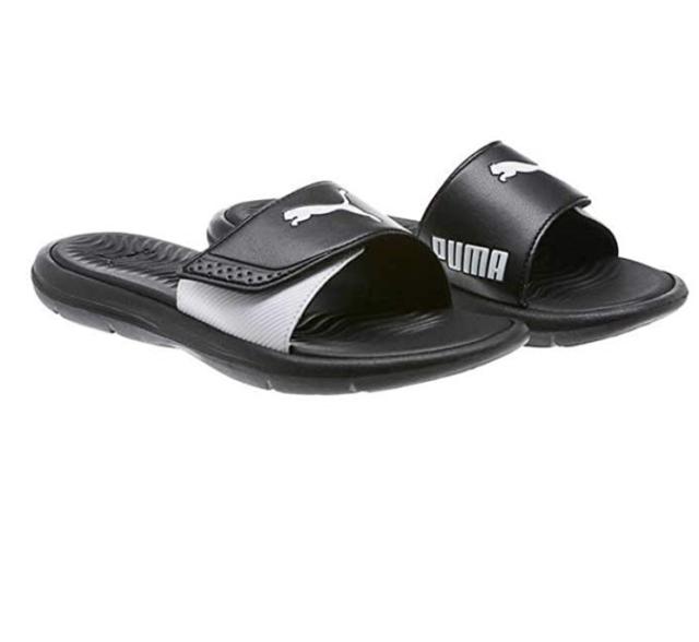 Puma Women s Surfcat Wns Slide Sandals Adjustable Strap Comfort Black Size 8 b41017136