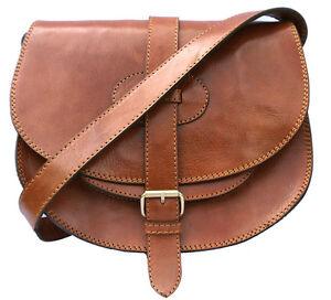4f08223c00 Sac bandoulière pour femme Marron Sable en cuir veritable | eBay
