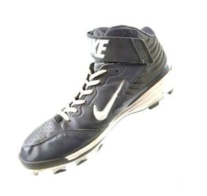383193f7b786c NIKE HUARACHE STRIKE HIGH-TOP BASEBALL CLEATS 615966 LT GRAPHITE ...