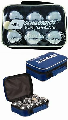 Orderly Schildkröt Fun Sports Boule Boccia Pentanque Set 6 Metallo Perle Zielkugel 5 Kg Other Billiards