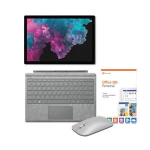 Microsoft Surface Pro 6 12.3  i5 8GB RAM 128GB SSD + Signature Type Cover Bundle 472000007899