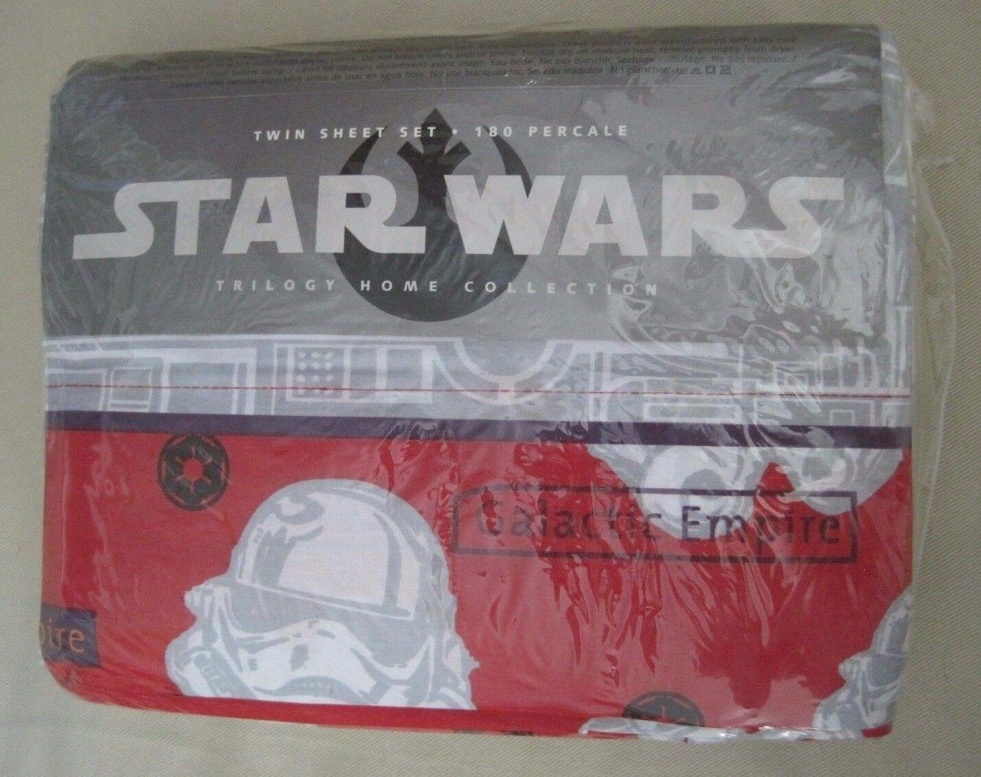Star Wars Trilogy Home Collection Empire Galactique Simple Ensemble de Draps 180
