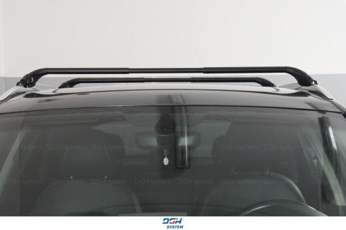 Für VW Passat Alltrack 15 Dachträger Alu mit geschlossener Dachreling