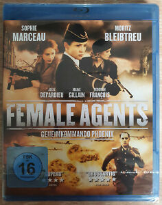 Female Agents Bluray Deborah Francois Neu New Sealed Blu-ray Marie Gillain