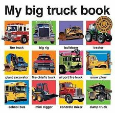 My Big Truck Book (My Big Board Books), 1849154635, New Book