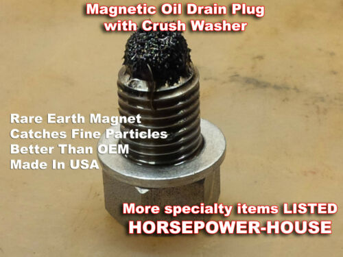 12mm MAGNETIC OIL DRAIN PLUG @ KAWASAKI VULCAN 500 750 800 900 1500 2000 ALL