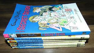 Enid-Blyton-Secret-Seven-Book-Bundle-Job-Lot-Paperback-X6