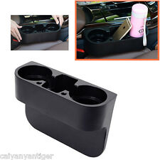 Seat Seam Wedge Car Drink Cup Holder Travel Drink Mount Stand Storage For Benz